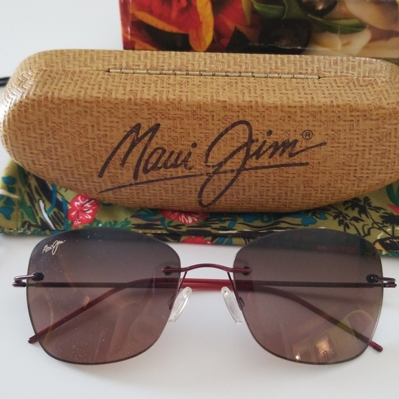 d748391c767b Maui Jim Accessories | Nib Apapane Polarized Sunglasses | Poshmark